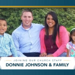 Joining Staff - Donnie Johnson